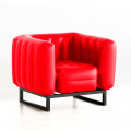 MOJOW Fauteuil Yomi Black Frame Red