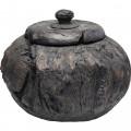 Kare Decoratiepot Elemento Black 36cm