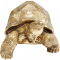 Kare Decofiguur Turtle Gold Medium