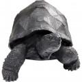 Kare Decofiguur Turtle Black Medium
