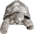 Kare Decofiguur Turtle Silver Medium