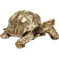 Kare Decofiguur Turtle Gold XL