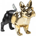 Kare Spaarpot Bulldog Gold/Black