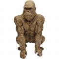 Kare Decofiguur Gorilla Gold 80cm