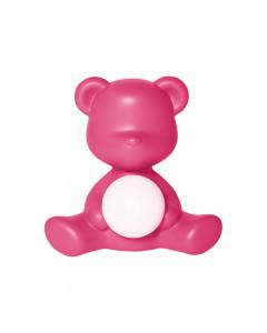 Qeeboo Tafellamp Teddy Girl LED Fuxia