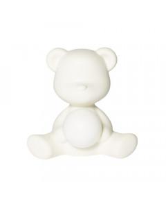 Qeeboo Tafellamp Teddy Girl LED White