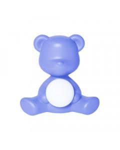 Qeeboo Tafellamp Teddy Girl LED Light Blue