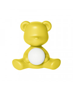 Qeeboo Tafellamp Teddy Girl LED Yellow