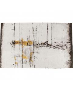 Kare Vloerkleed Abstract Grey Line 300x200cm