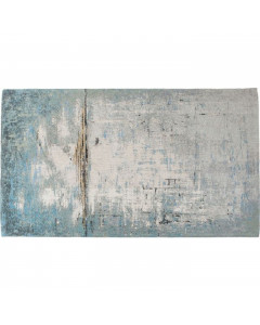 Kare Vloerkleed Abstract Light Blue 300x200cm