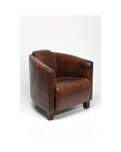 Kare Fauteuil Sigar Lounge Brown