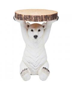 Kare Bijzettafel Animal Polar Bear