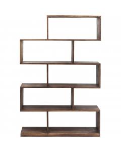Kare Boekenkast Authentico Shelf Zick Zack 150x100 cm