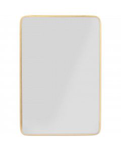 Kare Spiegel Jetset Square Gold 94x64 cm