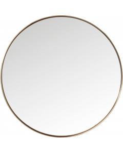 Kare Spiegel Curve Round Copper