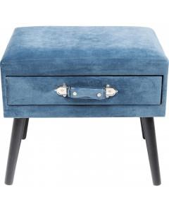 Kare Hocker Drawer Blue