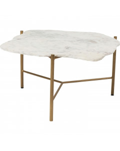 Kare Salontafel Piedra White 76x72cm