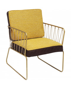 Kare Fauteuil String Yellow