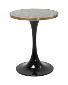 Kare Eettafel San Remo Black Round 60 cm