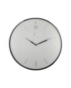 Nextime Wandklok Glamour Grey 40 cm