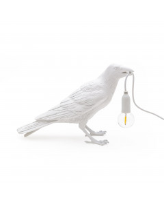 Seletti Tafellamp Bird Sitting White