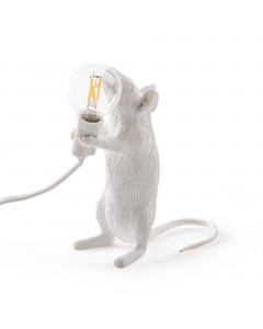 Seletti Tafellamp Mouse Standing White
