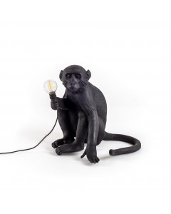 Seletti Tafellamp Monkey Black