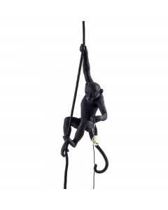 Seletti Hanglamp Monkey Ceiling Black