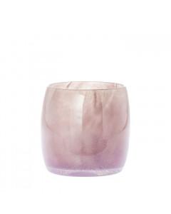 Riverdale Windlicht Cordoba roze 17cm