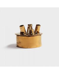&K Vaas Anouk Spouts Gold Small