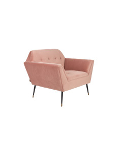 Dutchbone Fauteuil Kate Pink Clay