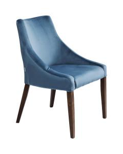 Kare Eetkamerstoel Mode Velvet Bluegreen