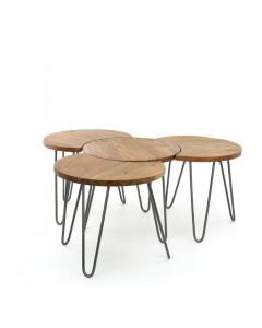 Meer Design Salontafel Tambt Grijs