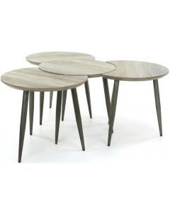 Meer Design Salontafel Tambt Bruin