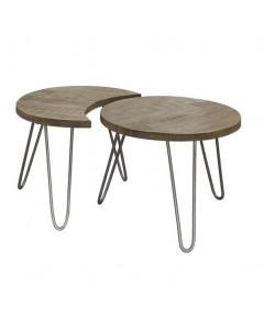 Meer Design Salontafel Thalas Blank Antiek