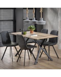 Meer Design Eettafel Mundil Bruin 160cm