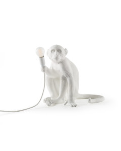 Seletti Tafellamp Monkey White