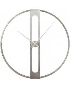 Kare Wandklok Clip Silver 107 cm