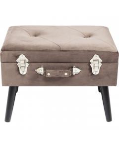 Kare Hocker Suitcase Grey