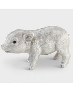 &K Spaarpot Pig Silver