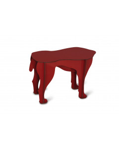iBride Bijzettafel Dog Sultan Red