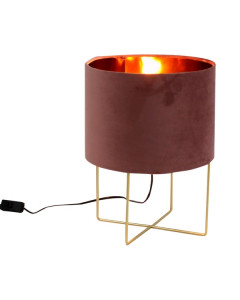 Tafellamp Trixi Small Pink Gold