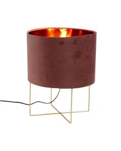 Tafellamp Trixi Large Pink Gold