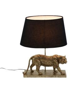 Tafellamp Tiger Black Gold