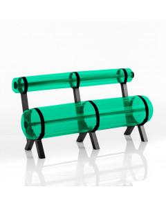 MOJOW Bank Ziba Black Frame Green 150