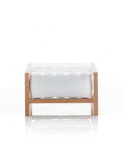 MOJOW Bijzettafel Yoko Wood Frame White
