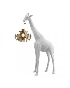 Qeeboo Vloerlamp Giraffe in Love XS White