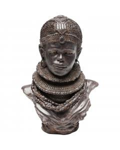 Kare Decofiguur African Tribal 36cm