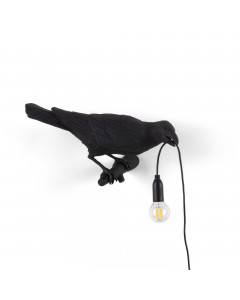 Seletti Wandlamp Bird Looking Right Black