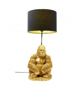 Kare Tafellamp Monkey Gorilla Gold
